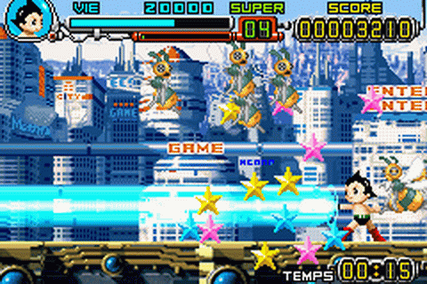 Astro Boy: Omega Factor screenshot