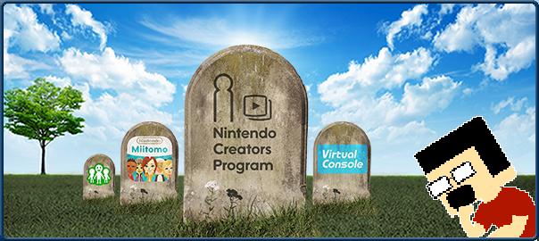 Tem Na Web - Sobre o fim do Nintendo Creators Program